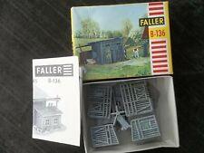 Vintage Faller Wooden Shed Plastic Model Kit-Hochhaus-Ho Train,Germany,Complete