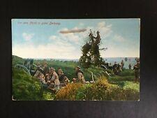 GERMAN EMPIRE. WW1 PATRIOTIC POSTCARD -:- IN VERY NICE ORIGINAL CONDITION.