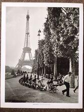 Robert Doisneau PRINT Vintage 2004 Photography Art Paris Calvary Champ-de-Mars
