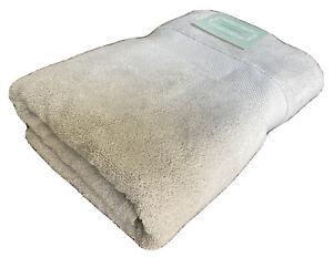 "TURKISH 100% COTTON BATH TOWEL 30 x 58"" Oversized Super Soft Gray"