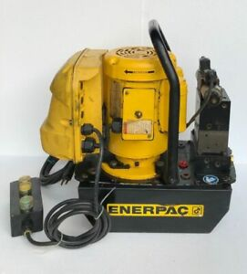 ENERPAC ZE3308SB DIGITAL ELECTRIC HYDRAULIC PUMP FOR DOUBLE ACTING CYLINDER