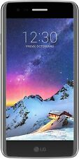 "New LG K8 2017 Silver 4G LTE 16GB 5"" Lcd WIFI Android 13MP Unlocked Smartphone"
