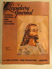 Lapidary Journal Magazine 1963 June Heavenly Light Intarsia