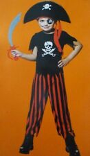 Valiant Pirate Boys Buccaneer Halloween Costume 4-6 Small Dress-Up Cosplay #7381