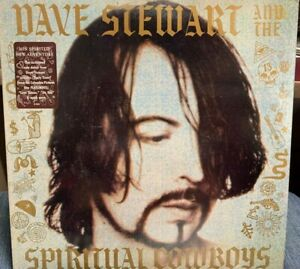 Dave Stewart And The Spiritual Cowboys LP 1990 AL-8626 INNER MASTERDISK Promo