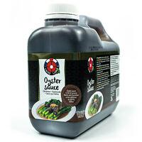 Lucky Label - Oyster Sauce 2 L aus Thailand - Original Oystersauce Austernsauce