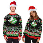 Unisex Christmas Jumpers Men Women Xmas Couple Ugly Knitted Sweaters Casual Tops
