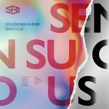 SF9 - Sensuous [Exploded Emotion ver.] CD+Photocards+Folded Poster+Tracking no.