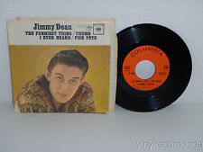 "JIMMY DEAN The Funniest Thing/Thumb Pick Pete 7"" 45 Columbia 4-42861 NM vinyl PS"