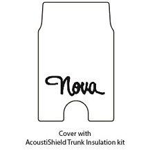 1973 1977 Chevy Nova Trunk Rubber Floor Mat Cover with G-040 Nova