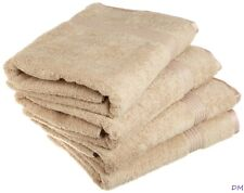 4-pc Taupe Superior 600 GSM Egyptian Cotton Bath Towel Set