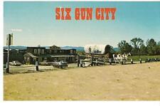Six Gun City Western Theme Park JEFFERSON NH White Mountains Vintage Postcard