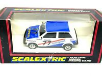 Vintage Boxed Austin Metro Datapost Scalextric Slot Car, Scalextric C303 Model
