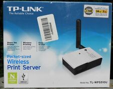 TP-LINK 150 Mbps Wireless USB 2.0 Pocket-Sized Print Server WPA TL-WPS5IOU
