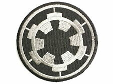 "Imperial Cog Star Wars Embroidered Iron On Badge Patch 2.9""/7.5"