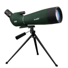 Svbony 20-60x80mm Refractor Spotting Scope Soft Case+Simple Tripod Bird Watching