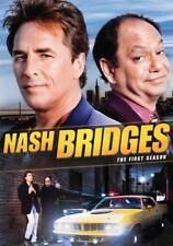 NASH BRIDGES THE FIRST SEASON 1 DON JOHNSON CHEECH MARIN NEW SEALED 2-DISC DVD