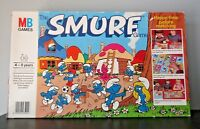 SMURFS BOARD GAME ENGLISH MB GAMES COMPLETE