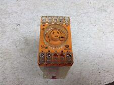 Schleicher SZT 31 110-127 VAC 0.05-1 Second Timer Relay Time SZT31 (TB)