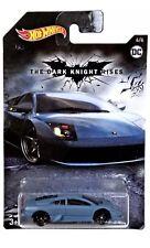 Hot Wheels Exclusive The Dark Knight Rises Batman Lamborghini Mucielago Rare!