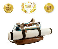 Yoga Mat Bag | Gym Workout Yoga Mat Tote Sling Carrier with Pocket and Zipper