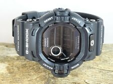 Casio G Shock G-9200BW Riseman With New Strap & Bezel & Tin. Extremely Rare!
