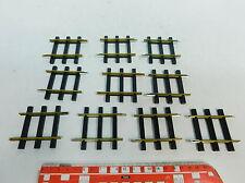 AY131-0,5# 10x ETS Spur 0 (1:45)/DC 613 Ausgleichsstück/Gleis/Schiene, NEUW