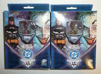 Lot of 2 BATMAN VS JOKER Trading Card Game Starter Deck DC Comics VS System 1st