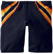 TYR SPORT Boy's Phoenix Splice Jammer Swimsuit Navy/Orange - Size 24