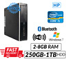 Fast PC HP 8300 Desktop Intel Core i5 WiFi dvd Windows 7/10 UK Next Day Delivery