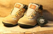 "Timberland Classic Beige Toddler Youth Kids Size 9M Boots Brown 7"" Long"