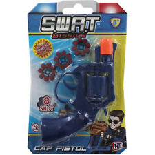 Swat Cap Pistol 8 Ring Shot Cap Gun