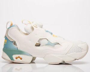 Reebok Classic InstaPump Fury OG Men's White Chalk Glass Blue Lifestyle Sneakers