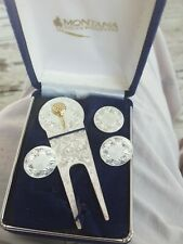 Montana Silversmith Golf Divot tool and marker set. Happy Father's Day