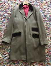 Hope & Glory Overcoat with velvet trim