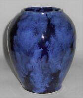 Brush McCoy Art Pottery Blue Onyx #050 Vase
