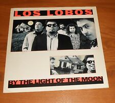 Los Lobos By the Light of the Moon Poster 2-Sided Flat Square 1987 Promo 12x12