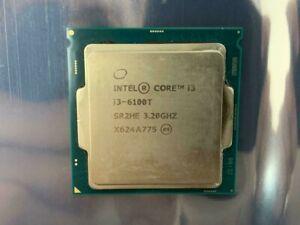 Intel Core i3-6100T 3.20GHz CPU Processor Intel Core i3 6th Gen CPU (HAVE BULK)