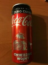 COCA COLA CAN #4 - 330ml - STAR WARS The Rise of Skywalker RARE POLISH EDITION