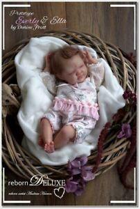"Ella by Denise Pratt ~ 18"" Reborn Vinyl Doll Kit ~ Full Limbs ~ Bountiful Baby"