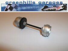Greenhills Scalextric Maserati Trofeo Cambiocorsa Rear Axle & Wheels Silver U...
