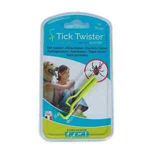 O'tom Tick Twister Dog Cat Human Animal Ticks Removal UK Tool Blister Pack