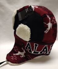 Alabama Crimson Tide Team Color City Name Trooper Hat  Warm & Well Made!!! WOW!!