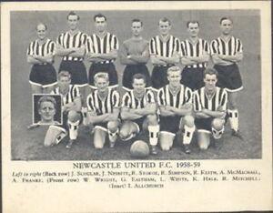 Fleetway - Football Teams 1958/59 (Lion) - Newcastle United FC 1958-59