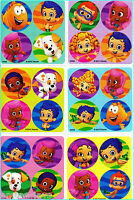 Bubble Guppies Stickers Dots x 24 (6 sheets) - Favours - Birthday Party Ideas