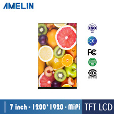 7 inch 1200x1920 tft lcd screen with MIPI high definition display  LCD Modules