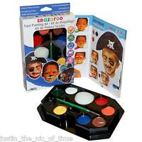 SNAZAROO Professional Face Paint Kit Fancy Dress Party Colours Make up Painting