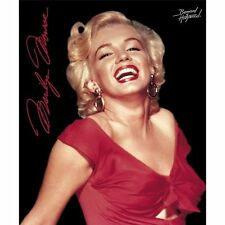 Licensed Marilyn Monroe Super Soft Fleece Throw Blanket 50x60 Inches - Red Dress