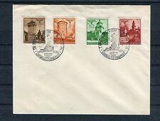 Generalgouvernement Blanko-Brief Mi.-Nr. 40-42+45 gestempelt - b2002