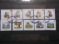 Isle of Man 2004 Commemorative Stamps~Story of Mann~Fine Used Set~UK seller
